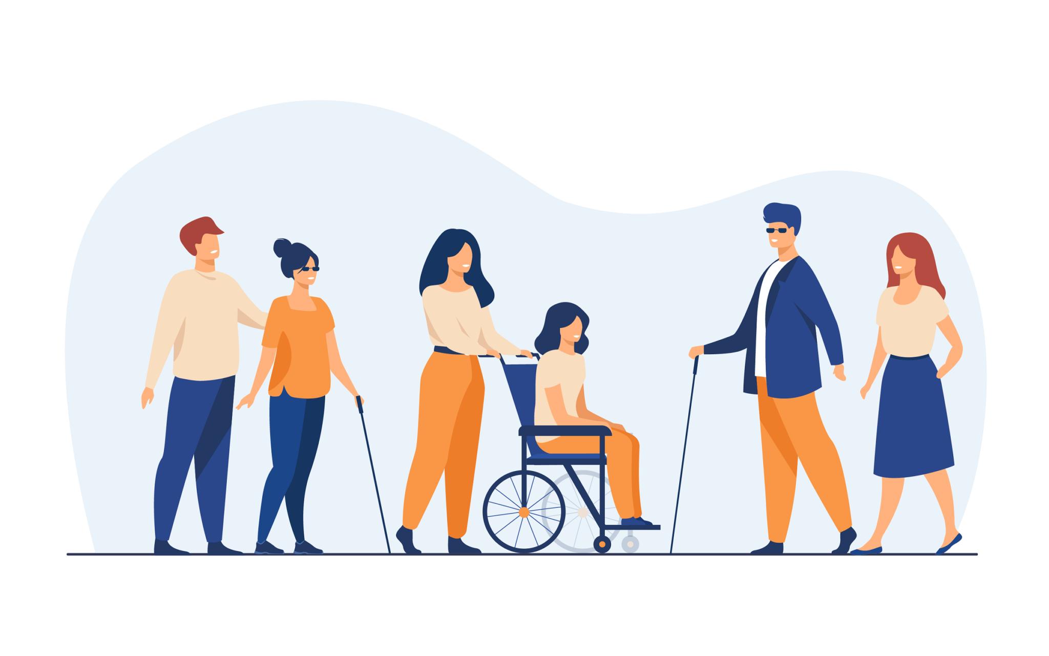 Handicap en France